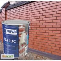 Фасадный прозрачный лак Isaval Иза-Рок 4л с эффектом Мокрый Камень на растворителе