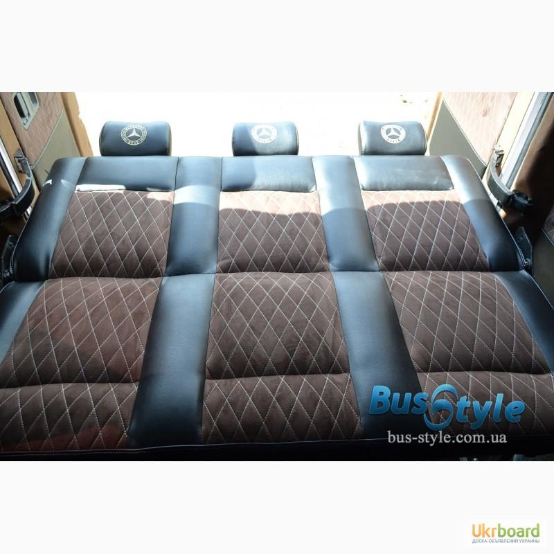 Как сделать раскладывающийся диван в микроавтобус