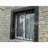 Металлические оконные решетки, изготовление и установка решеток на окна
