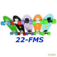 Скейт 22-FMS penny skate board fish cruiser пенни лонгборд 56 см 22