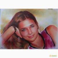 Нарисовать портрет по фото на заказ