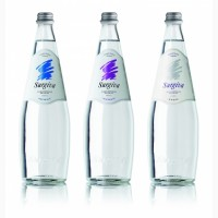 Мінеральна вода Surgiva(Італія) 0, 75л, скляна пляшка, газ., негаз