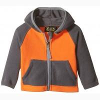 Детские теплые курточки, флиски для девочек и мальчиков, одежда из СШ