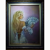 Картина автора«Белоснежная Кармэн»-пастель, бумага, формат А3