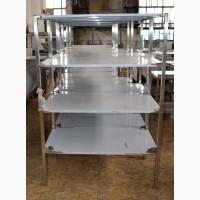 Мебель для пищевой промышленности, столы, стеллажи, мойки, полки в наличии