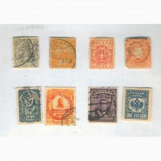 Марки и марки с открыток