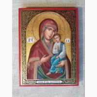 Икона Божией Матери «Святогорская» Богородица Святогорская. Золотофонка. Письмо темперой