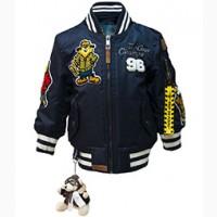 Дитяча льотна куртка Kid#039;s MA-1 Chs Bomber with hoodie (синя)