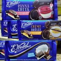 Тёмный шоколад с кокосовой начинкой, E.Wedel, 100г Молочный шоколад E.Wedel с наполнител