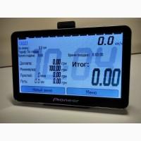 Автомобильный GPS навигатор-таксометр Pioneer 5#039;#039; HD свежие карты