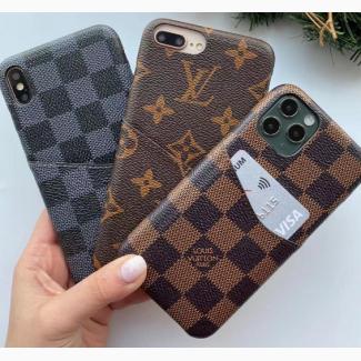 Чехол брендовый Louis Vuitton для Iphone Чехол Луи Веттон iPhone 7plus 8 plus Айфон 7+/8