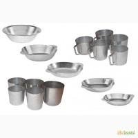 Алюмінієві тарілки, кухлі та стакани