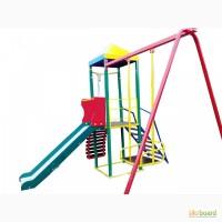 Комплекс Гамми, спортивно-игровой для детских площадок. с горкой и качелей