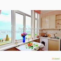 Сдам 1к. квартиру у моря в Ялте, над Массандровским пляжем