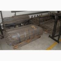 Деловые отходы после штамповки - полоски листового металла
