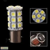 2 шт. Светодиодная авто лампа, Led, BAY15D, 1157, P21/5W Стопы габариты, двух контактная