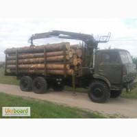 Услуги лесовоза с манипулятором по Харькову и области