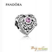 Оригинал PANDORA шарм наполненное сердце 791964CZO