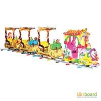 Акция: продажа детских аттракционов Поезд Пьеро по супер цене
