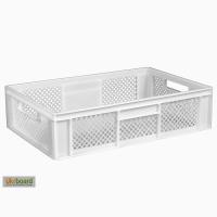 Пищевой пластиковый ящик 600х400х155