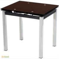 Стеклянный раскладной кухонный стол Стол T-231-8
