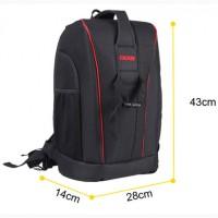 Рюкзак сумка Caden K6 для подорожей туризму техніки фото dslr Canon Nikon