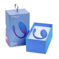 Незаметное смарт виброяйцо We-Vibe Jive Blue Vibrating Egg