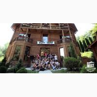 Лагерь для подтростков в Карпатах: молодежный лагерь ВЕСТ КЕМП