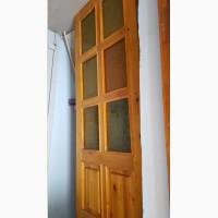 Продам сосновую дверь 1 шт, размеры 2 м на 0.8 м
