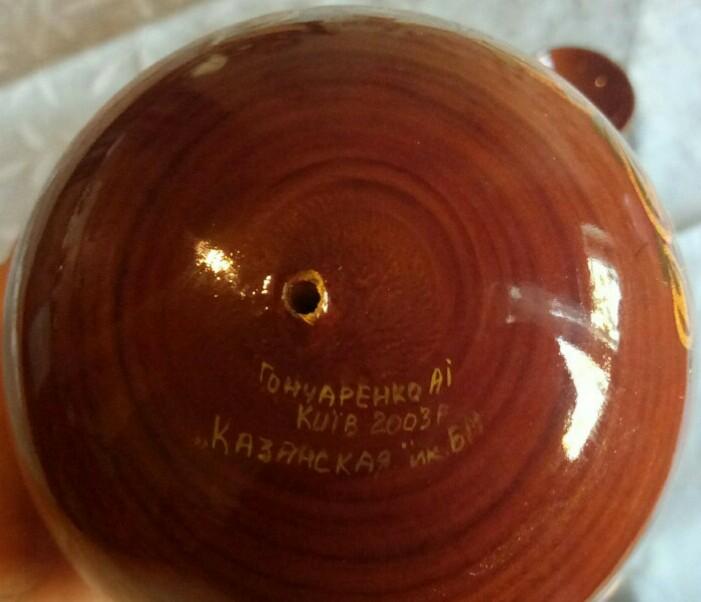 Фото 4. Икона Божьей Матери Казанская пасхальное яйцо