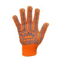 Перчатки рабочие, Корона, оранжевые