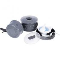 Набор посуды из анодированого алюминия на 2-3 персоны Tr(профилированное дно) TRC-034