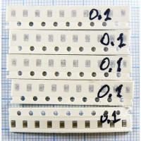 За 225 Грн. продаётся набор SMD конденсаторов 0805 50 вольт 75 номиналов по 10 шт