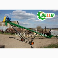 Шнековый погрузчик зерна (транспортер) - Деллиф
