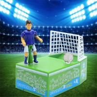 Копилка Футболист забивает гол монеткой, подарки, игрушки