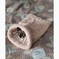 Лежанка - нора для кошки