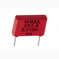 Конденсаторы для аудиотехники Wima MKS4 0, 1мкФ 100В