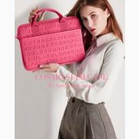 """Сумка для ноутбука Wiwu Cosmo Vogue Slim case 13""""- 14"""" плечевой ремень Pink Slim case"""