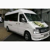 Заказ микроавтобуса на свадьбу, аренда автобуса Одесса