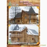 Построить рубленый дом канадской рубки 171 м.кв в Крыму