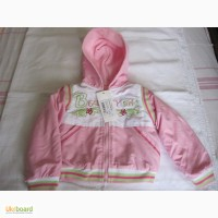 Детский спортивный костюм тройка для девочки утепленный