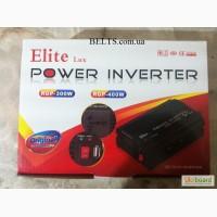 Автомобильный преобразователь Power Inverter ELITE lux 12 / 220v 300W