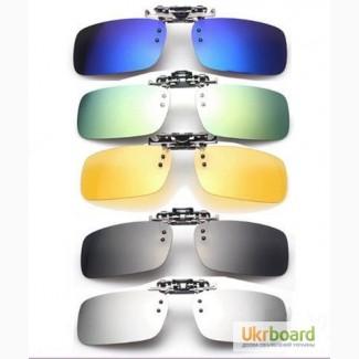 c65516c49420 Накладки на очки Clip-On антиблик поляризационные клипон