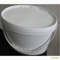 Продам ведра пластиковые, пищевые, белые, 11л. (овальные)