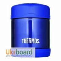 Детский термос для еды Thermos Blue Funtainer Food Jar 0, 3L