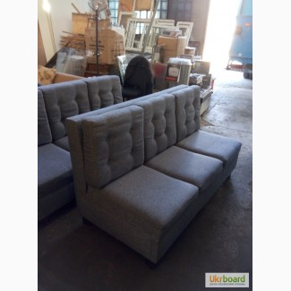 Продажа бу диванов серого цвета для кафе в хорошем состоянии б/у