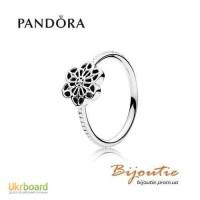 Оригинал PANDORA кольцо цветочное кружево 190992