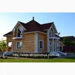 Быстровозводимый каркасный канадский дом из сип панелей от производителя Харьков