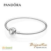 Pandora лимитированный браслет любящее сердце 590746EN23