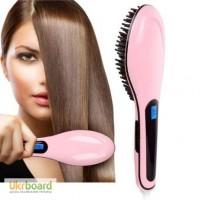 Расческа-выпрямитель для волос Fast Hair Straightener Оригинал